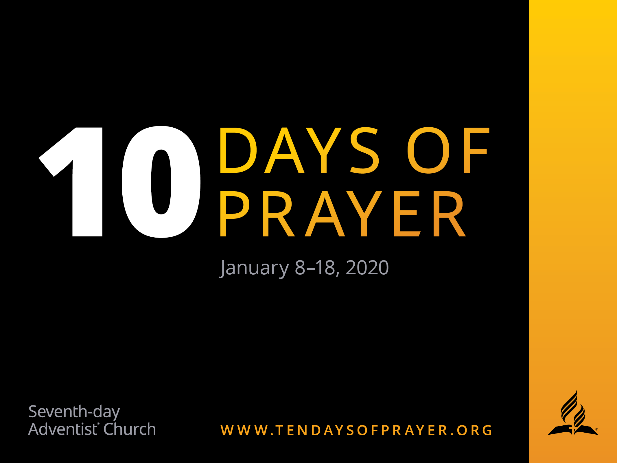 Ten Days of Prayer 2020